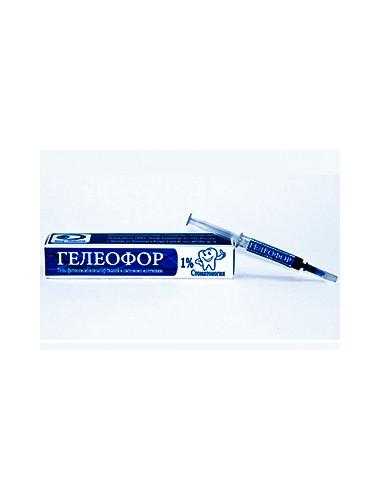 """Гель """"Гелеофор"""" для применения в фотодинамической терапии"""